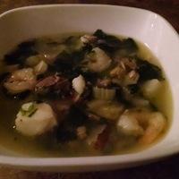 Zuppa di pesce bianco