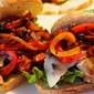 Sausage Sandwiches with Tangy Peppers and Onions