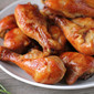 Caramel Baked Chicken Legs