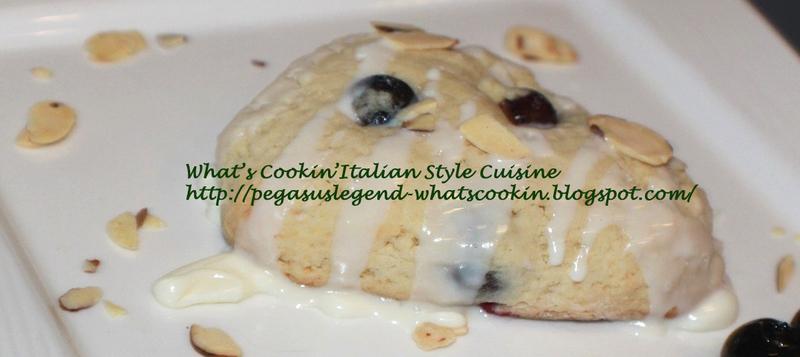 Blueberry Almond Scones Recipe Video Recipe by Claudia ...