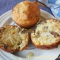 SAUSAGE AND CHEESE GRITS MUFFINS