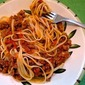 Linguine with Slow-Cooked Lamb