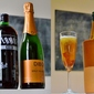 New Year's Eve cocktails: the cava and Vermut Negre fizz