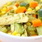 Immunity Boosting Green Chicken + Veggie Soup (video)