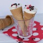 Valentines Day Dessert Ideas- Short Cut Cannolis