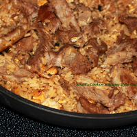 Leftover Meat and Rice Stir Fry Recipe