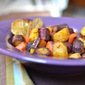 Harissa Roasted Rainbow Carrots {a Recipe Redux}