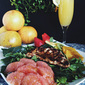 Grilled Chicken Citrus Salad with Balsamic Vinaigrette featuring Florida Grapefruit