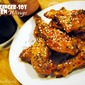 Crisped Ginger-Soy Chicken Wings + Beer Pairing, a #wingweek guest post