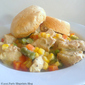 Chicken Pot Pie Biscuit Bowl With Campbell's® Oven Sauces!