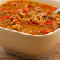 Lentil Soup with Italian Sausage and Roasted Red Peppers (Gluten-Free, Low-Carb)