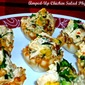 Amped-Up Chicken Salad Phyllo Cups...Featuring Intensity Academy and Gourmet Garden Products #TripleSBites