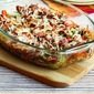 Sausage, Peppers, and Mushrooms Low-Carb Cheesy Bake (Gluten-Free)