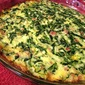 Ham and Spinach Crustless Quiche