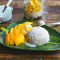 Sweet Sticky Rice With Coconut And Mango~{Khao Niaw Mamuang}