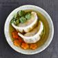 Shrimp Dumpling Suimono (clear soup)