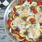 Mediterranean Heart Healthy One Pot Wonder White Fish Dinner