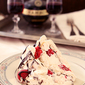 Raspberry Boccone Dolce (Chocolate and Raspberry Pavlova)