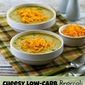 Cheesy Low-Carb Broccoli and Cauliflower Soup (Gluten-Free, Meatless)