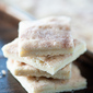 Cinnamon Sugar Shortbread Bars