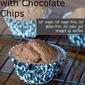 Straight Up Banana Chocolate Chip Muffins