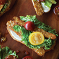 Vegan BLT Tartines
