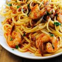 Shrimp Linguine Marinara