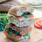 Pesto Chicken Salad Sandwiches