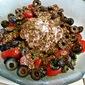 Mediterranean Cottage Cheese Salad with Zaa'tar