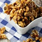 Maple Syrup Glazed Walnuts