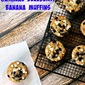 Oatmeal Blueberry Banana Muffins
