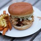 Easy Slow Cooker Pulled Chicken Sandwiches