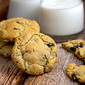 Raisin Walnut Cookies
