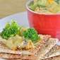 Cheesy Chicken & Broccoli Dip {Old London Foods}