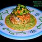 Weekend Gourmet Flashback: Baked Crab Cakes with Avocado Crema and Mango-Avocado Salsa