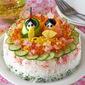 How to Make Sushi Cake for Hinamatsuri (Girl's Festival) - Video Recipe