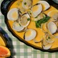 Clams In A Thai Red Curry Coconut Broth