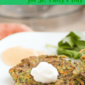 Green Veggie Pancakes for St. Patrick's Day (no food coloring allowed!)