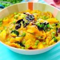 Aloo Matar (Potato And Pea Curry)