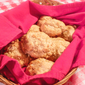 Easy Cornmeal Honey Biscuits