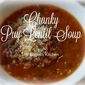Chunky Puy Lentil and Veggie Soup
