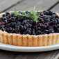 All Abuzz | Honeyed Blueberry Tart