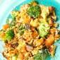 Simple Paleo Sweet Potato, Broccoli, and Egg Breakfast Hash Recipe