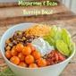 Mushroom and Bean Burrito Bowl