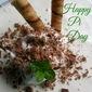Happy Pi Day: Fluffy Frozen Grasshopper Pie