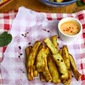 Desi Health Bites : Recipe for Baked Sweet Potato Sticks with Chilli Mayo