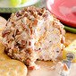 Pecan Crusted Apple Butter and Bacon Cheese Ball