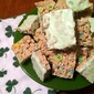 Luck o' the Irish Cereal Treats