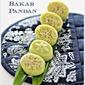 Kuih Bakar Pandan (Baked Pandan Cake) 烤香兰糕