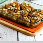 Baked Buffalo Chicken with Melted Blue Cheese (Low-Carb, Gluten-Free)